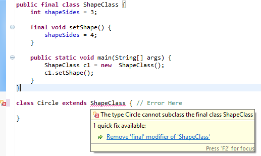 java delegate significance finished subject to shifts constructor